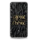 Casetastic Softcover Huawei P8 Lite (2017) - Creme de la Creme Black