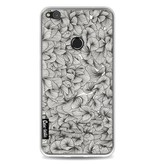 Casetastic Softcover Huawei P8 Lite (2017) - Abstract Pattern Black