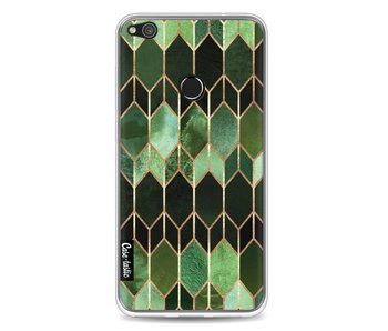 Stained Glass Green - Huawei P8 Lite (2017)