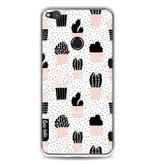 Casetastic Softcover Huawei P8 Lite (2017) - Cactus Print