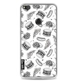 Casetastic Softcover Huawei P8 Lite (2017) - Drawn Junkfood