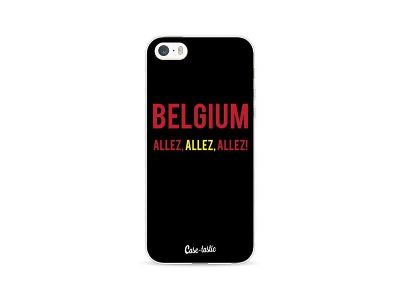 Casetastic Softcover Apple iPhone 5 / 5s / SE - Belgium Allez!