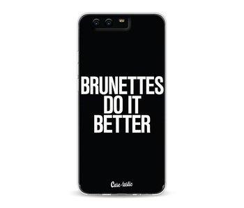Brunettes Do It Better - Huawei P10