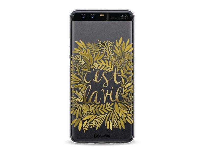Casetastic Softcover Huawei P10 - Cest La Vie Gold