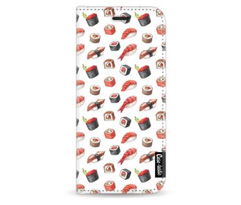 All The Sushi - Wallet Case White Samsung Galaxy S8