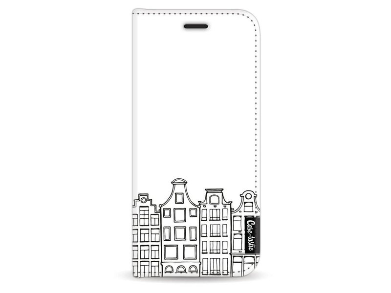 Casetastic Wallet Case White Samsung Galaxy S8 - Amsterdam Canal Houses