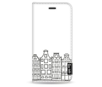 Amsterdam Canal Houses - Wallet Case White Apple iPhone 6 / 6S