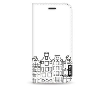 Amsterdam Canal Houses - Wallet Case White Samsung Galaxy A5 (2017)