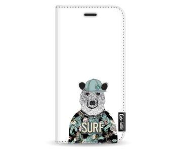 Surf Bear - Wallet Case White Samsung Galaxy A5 (2017)