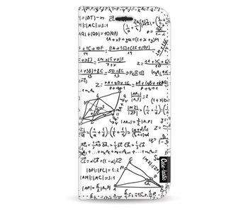 You Do The Math White - Wallet Case White Samsung Galaxy S8