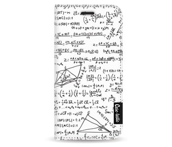 You Do The Math White - Wallet Case White Apple iPhone 5 / 5s / SE