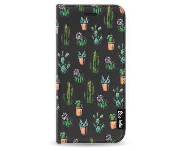 Cactus Dream - Wallet Case Black Apple iPhone 6 / 6S