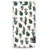 Casetastic Wallet Case White Apple iPhone 6 / 6S - Cactus Dream