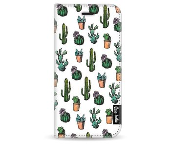 Cactus Dream - Wallet Case White Apple iPhone 6 / 6S