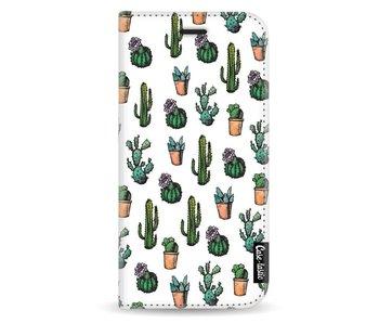 Cactus Dream - Wallet Case White Samsung Galaxy A5 (2017)