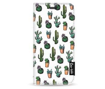 Cactus Dream - Wallet Case White Apple iPhone 5 / 5s / SE
