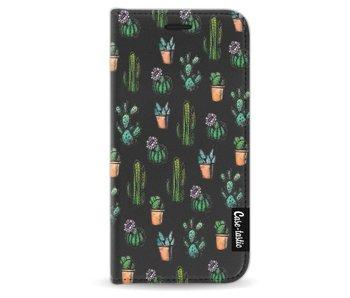 Cactus Dream - Wallet Case Black Apple iPhone 5 / 5s / SE