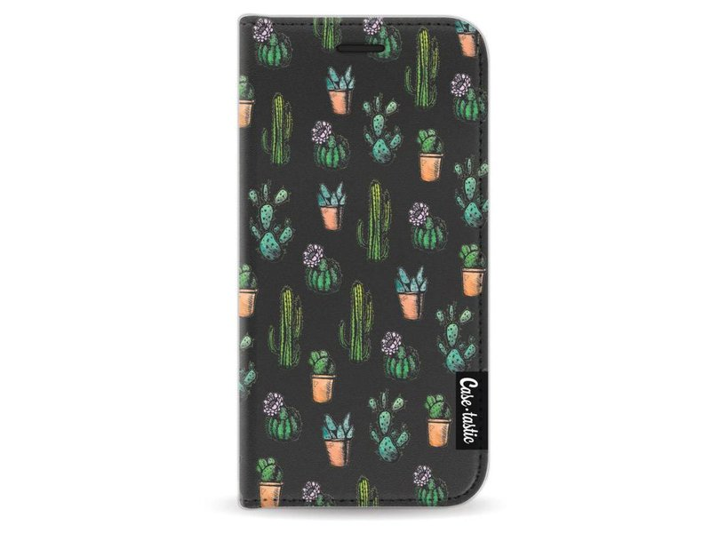 Casetastic Wallet Case Black Apple iPhone 5 / 5s / SE - Cactus Dream
