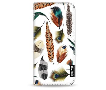 Feathers Multi - Wallet Case White Apple iPhone 6 / 6S