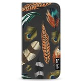 Casetastic Wallet Case Black Apple iPhone 5 / 5s / SE - Feathers Multi