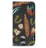 Casetastic Wallet Case Black Apple iPhone 5 / 5s / SE - Feathers Multi