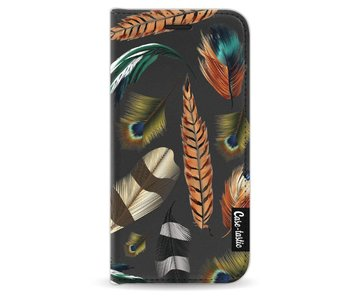 Feathers Multi - Wallet Case Black Apple iPhone 5 / 5s / SE