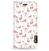 Casetastic Wallet Case White Apple iPhone 5 / 5s / SE - Flamingo Party