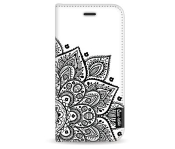 Floral Mandala - Wallet Case White Apple iPhone 6 / 6S