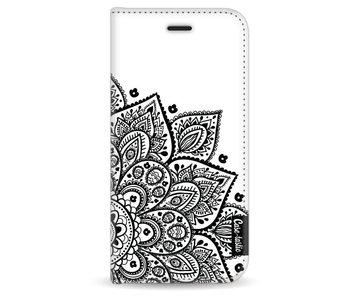Floral Mandala - Wallet Case White Apple iPhone 6 / 6S