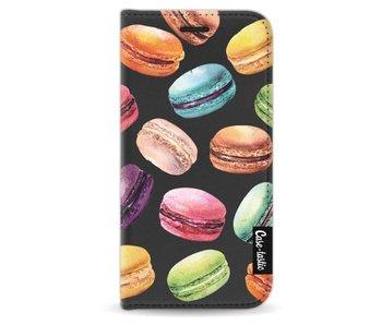 Macaron Mania - Wallet Case Black Apple iPhone 5 / 5s / SE