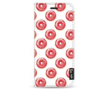 All The Donuts - Wallet Case White Samsung Galaxy S8