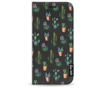 Cactus Dream - Wallet Case Black Samsung Galaxy A3 (2017)