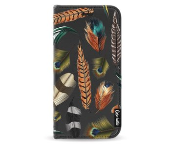 Feathers Multi - Wallet Case Black Samsung Galaxy A5 (2017)