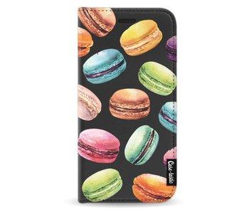 Macaron Mania - Wallet Case Black Samsung Galaxy A5 (2017)