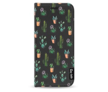 Cactus Dream - Wallet Case Black Samsung Galaxy S8