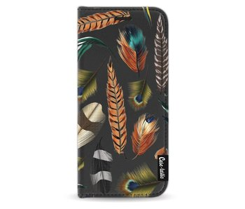 Feathers Multi - Wallet Case Black Samsung Galaxy S8