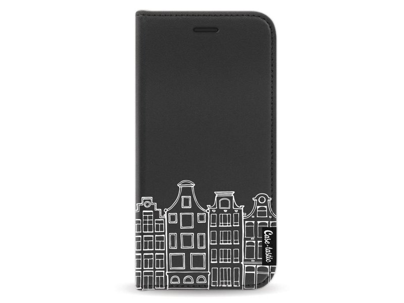 Casetastic Wallet Case Black Samsung Galaxy A5 (2017) - Amsterdam Canal Houses White