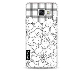 Cherry Blossom Grid - Samsung Galaxy A3 (2016)