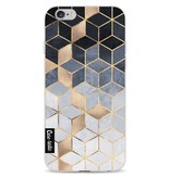 Casetastic Softcover Apple iPhone 6 / 6s  - Soft Blue Gradient Cubes