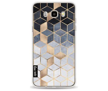 Soft Blue Gradient Cubes - Samsung Galaxy J5 (2016)