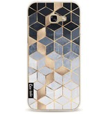 Casetastic Softcover Samsung Galaxy A5 (2017) - Soft Blue Gradient Cubes