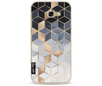 Soft Blue Gradient Cubes - Samsung Galaxy A5 (2017)