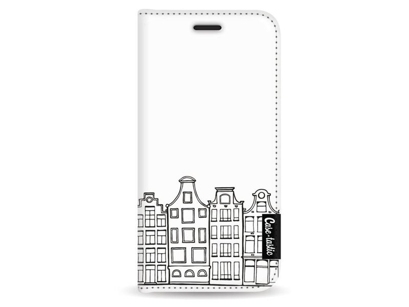 Casetastic Wallet Case White Apple iPhone 5 / 5s / SE - Amsterdam Canal Houses