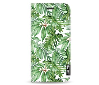 Transparent Leaves - Wallet Case White Samsung Galaxy A5 (2017)