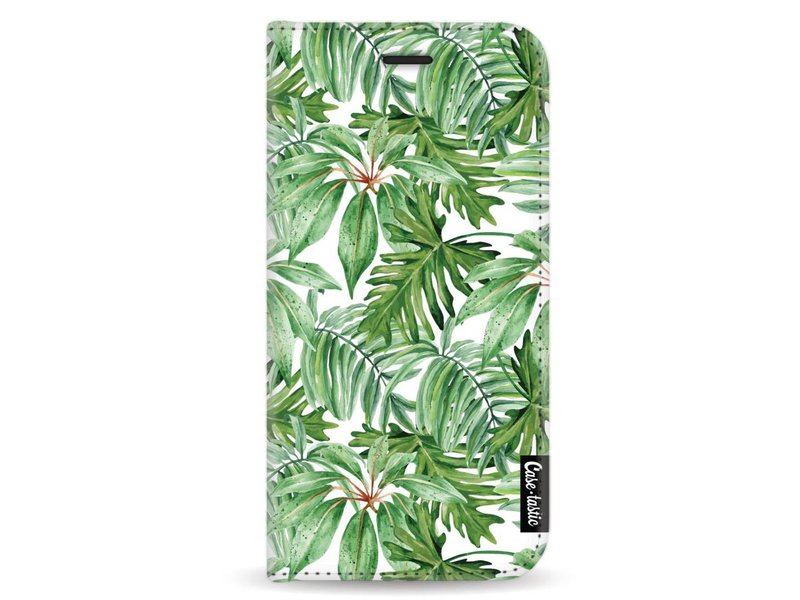 Casetastic Wallet Case White Samsung Galaxy A5 (2017) - Transparent Leaves