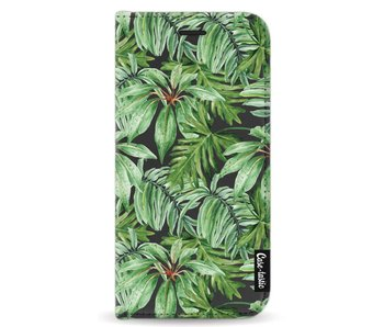 Transparent Leaves - Wallet Case Black Samsung Galaxy A5 (2017)