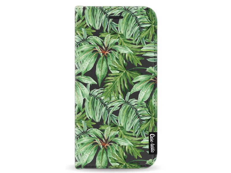 Casetastic Wallet Case Black Samsung Galaxy A5 (2017) - Transparent Leaves