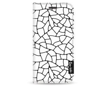 Transparent Mosaic - Wallet Case White Apple iPhone 5 / 5s / SE