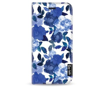 Royal Flowers - Wallet Case White Apple iPhone 6