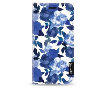 Royal Flowers - Wallet Case White Apple iPhone 5 / 5s / SE